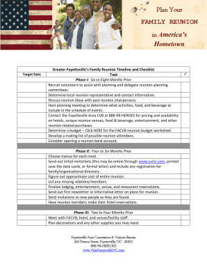 printable family reunion planning guide