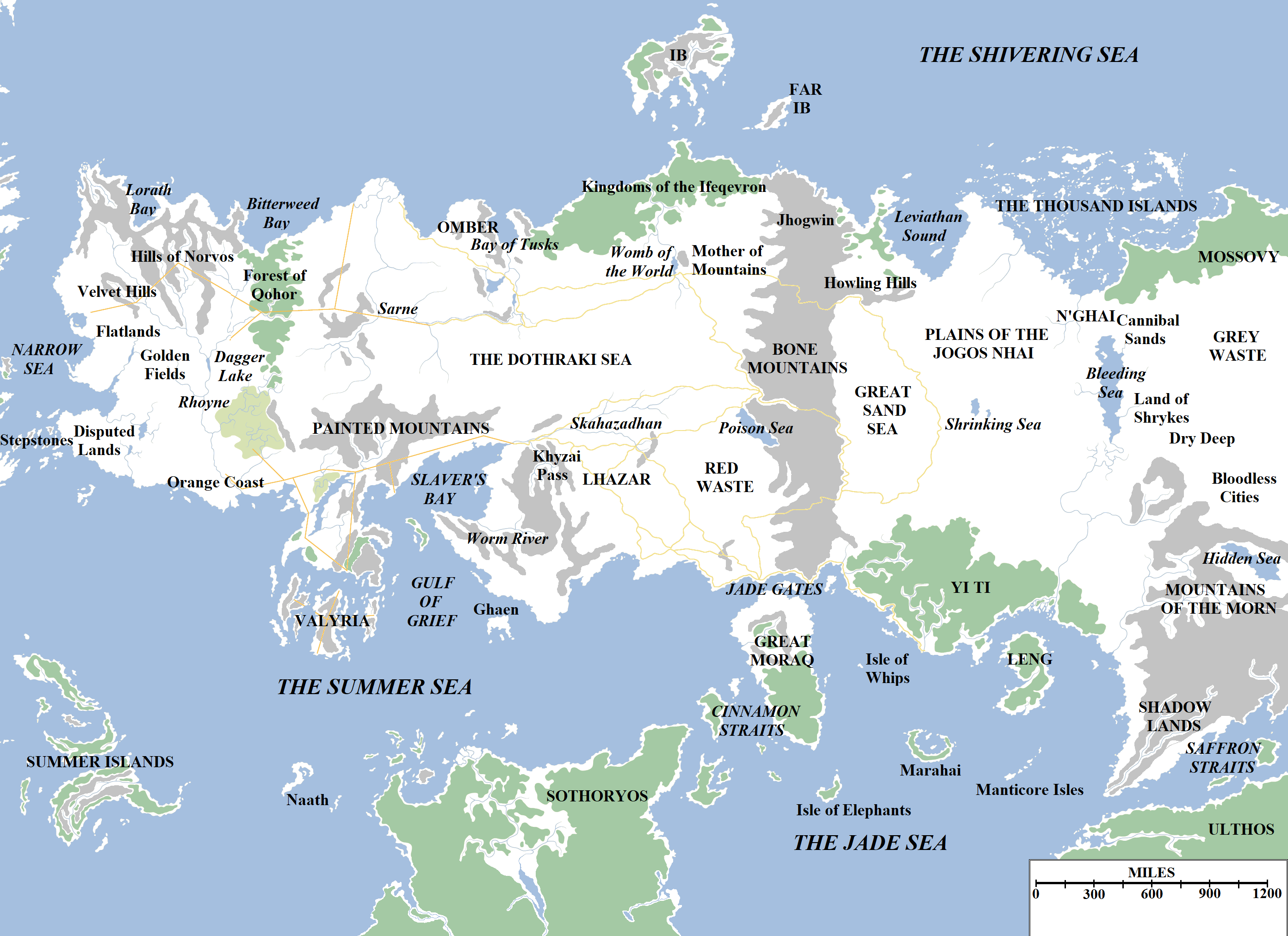 a world of fire and ice guide