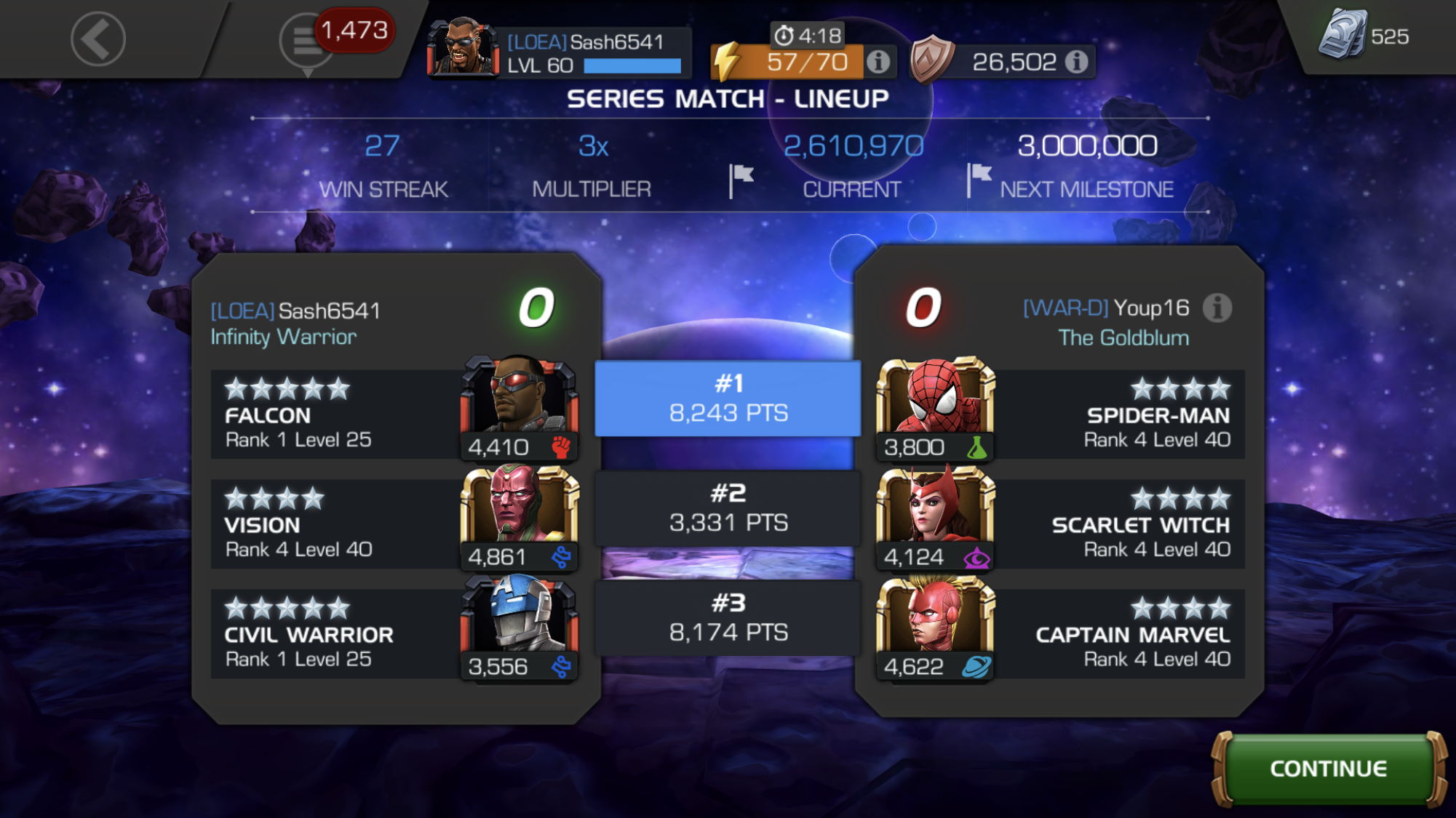 ace of arenas champion guide