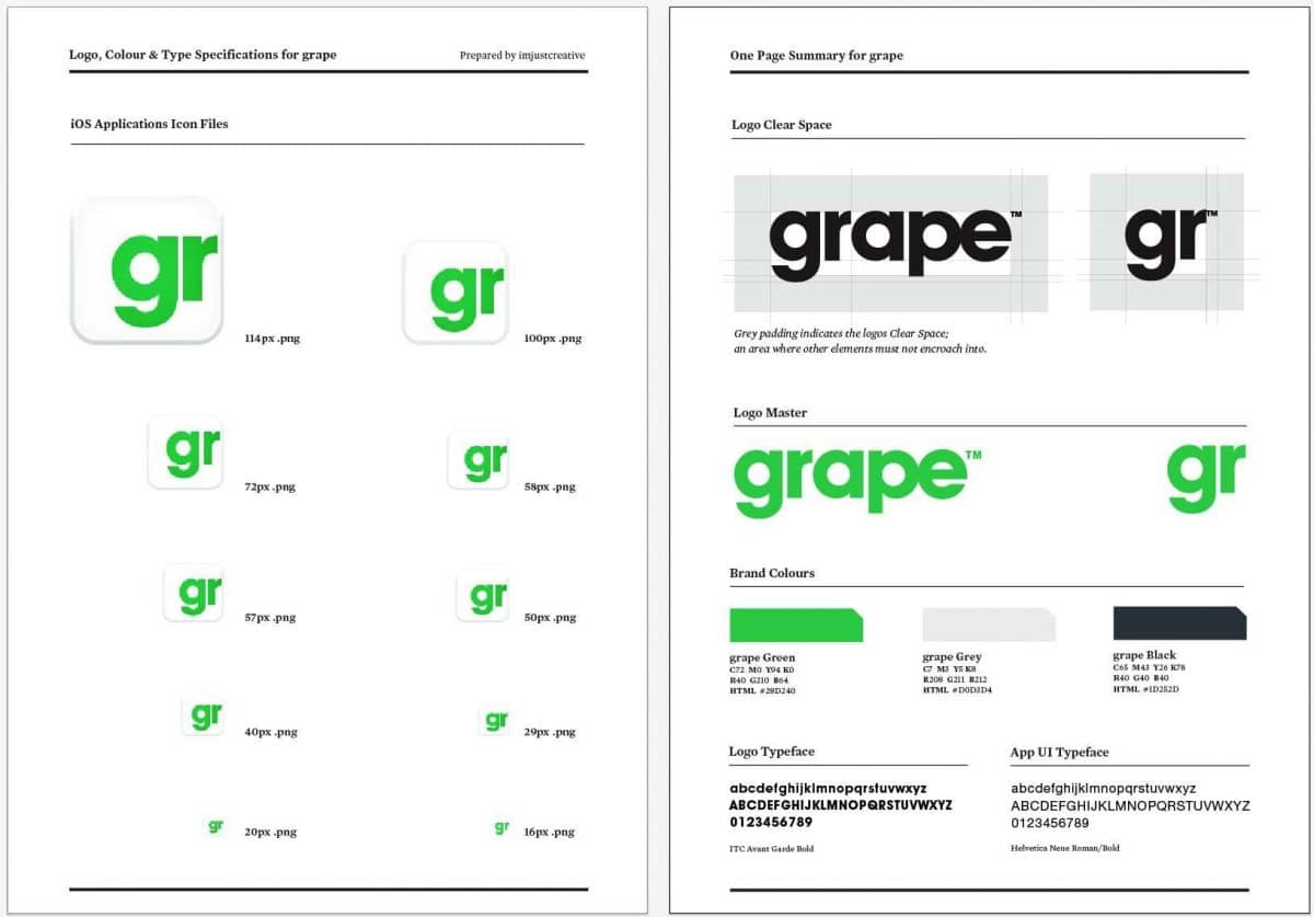 brand style guide template download