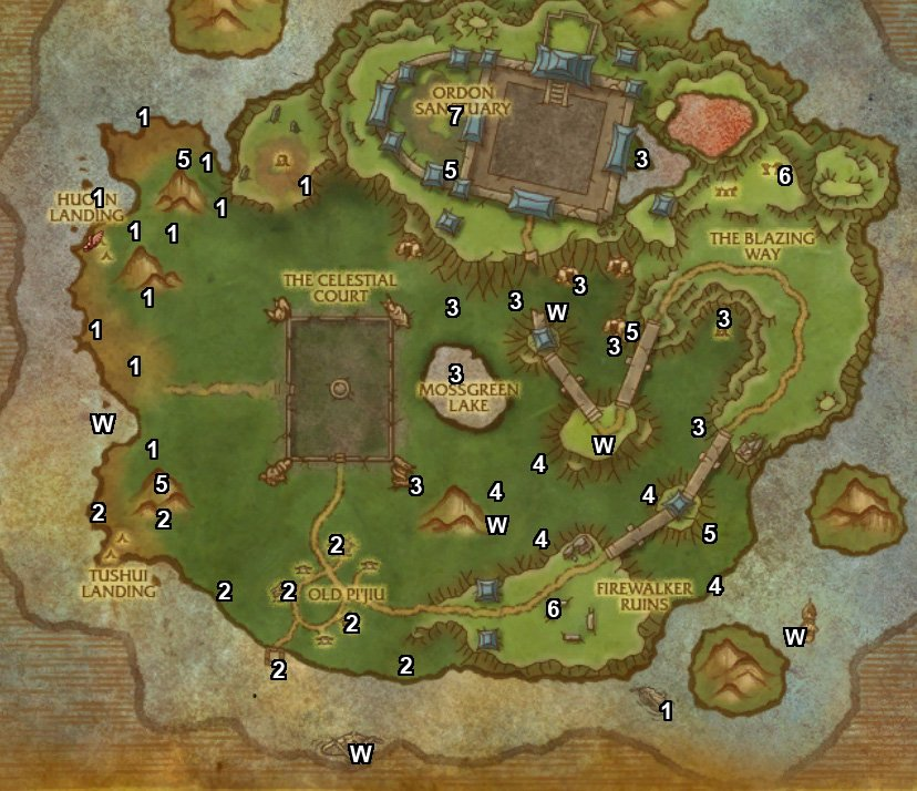 wow timeless isle farming guide lesser charm of good fortune